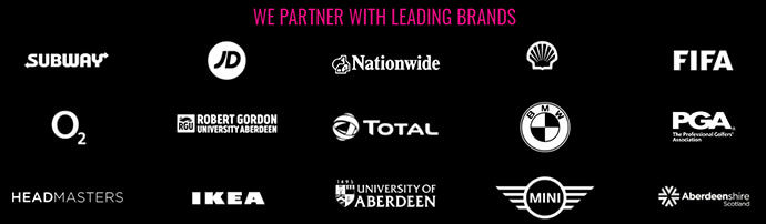 Brands we partner with
