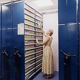 Medical Records Mobile Shelving