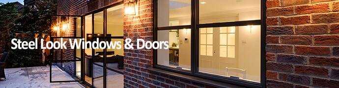 Steel Look Windows and Doors