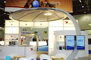 Fabrications from Plastic for Exhibitions