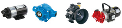 Diaphragm & Roller Vane Pumps