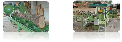 Sawmills and Firewood production Machinery