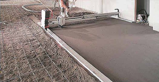 Self Leveling Screed : Speed screed limited self levelling flowing fast