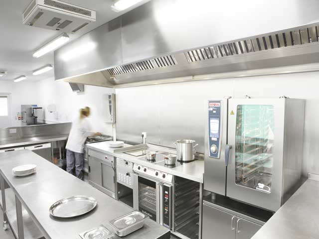 Industrial kitchen design 3d afreakatheart Industrial design kitchen ideas