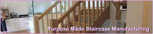 Bespoke and Custom Built Timber Staircases
