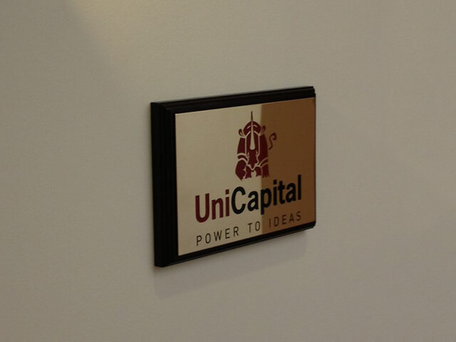 Gold Wall Plaque