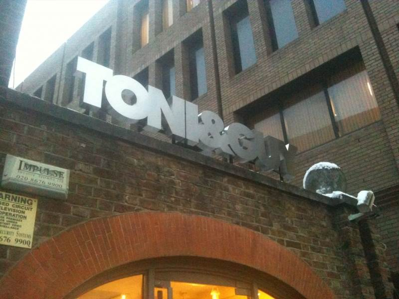 Standing Metal Letters Magnificent Action Signs Corporate Signs London Reception Signs London Review