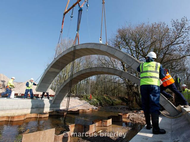 Precast Concrete Arches : Macrete ireland ltd precast concrete structures