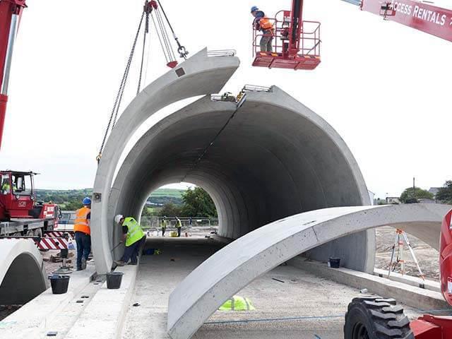 Macrete Ireland Ltd, Precast Concrete Structures, Precast Concrete