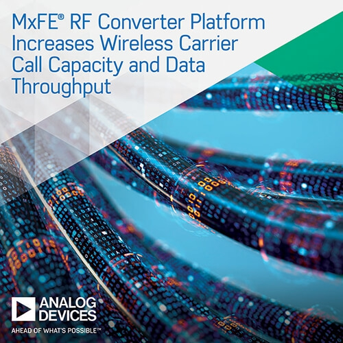 Mixed-signal front-end (MxFE™) RF data converter platform