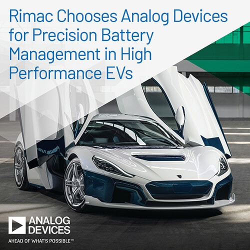 Rimac Chooses Analog Devices
