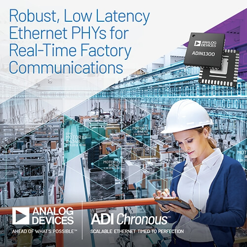 Analog Devices Unveils Robust, Low-Latency PHY Technology