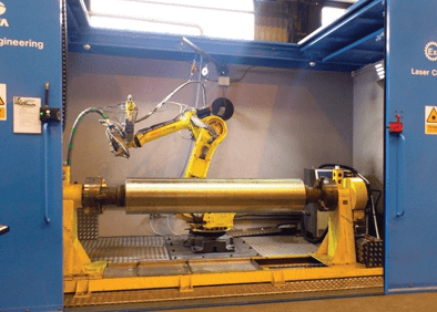 Laser Cladding Project at Tata Steel