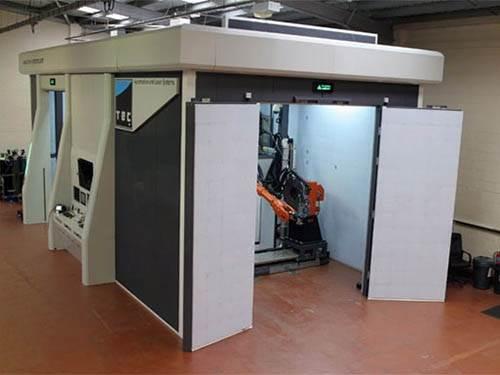 Active Laser Guarding System