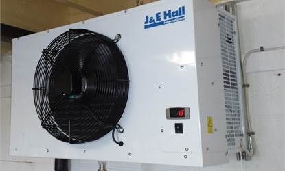 Pipe run on JCC cellar cooler range extended