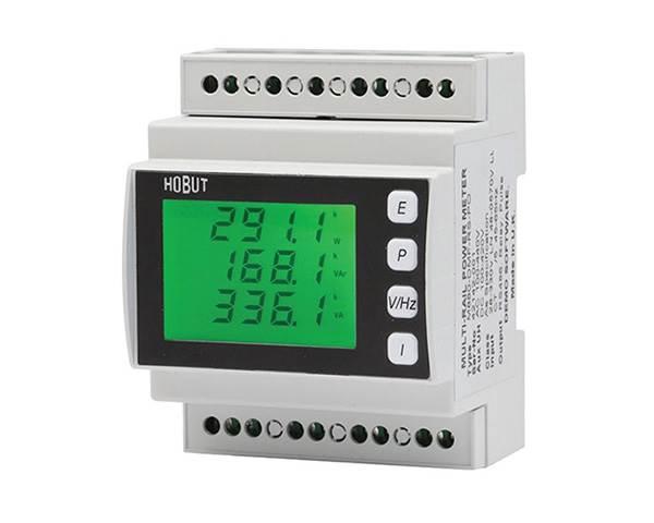 DIN Rail Mounting Power Meter