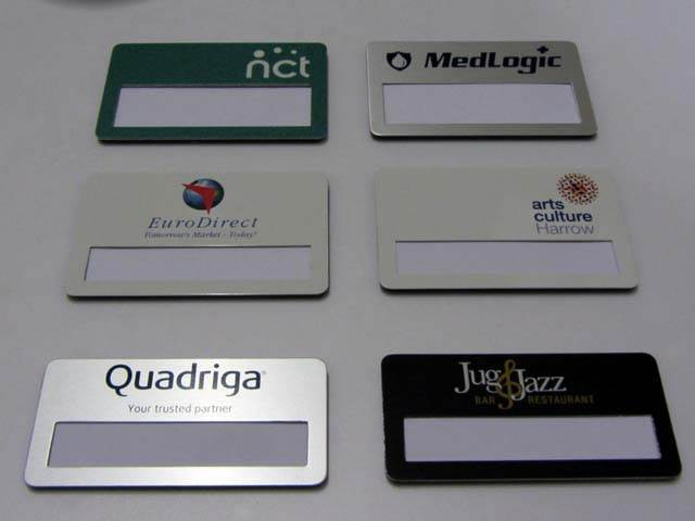 Aluminium Window Badges