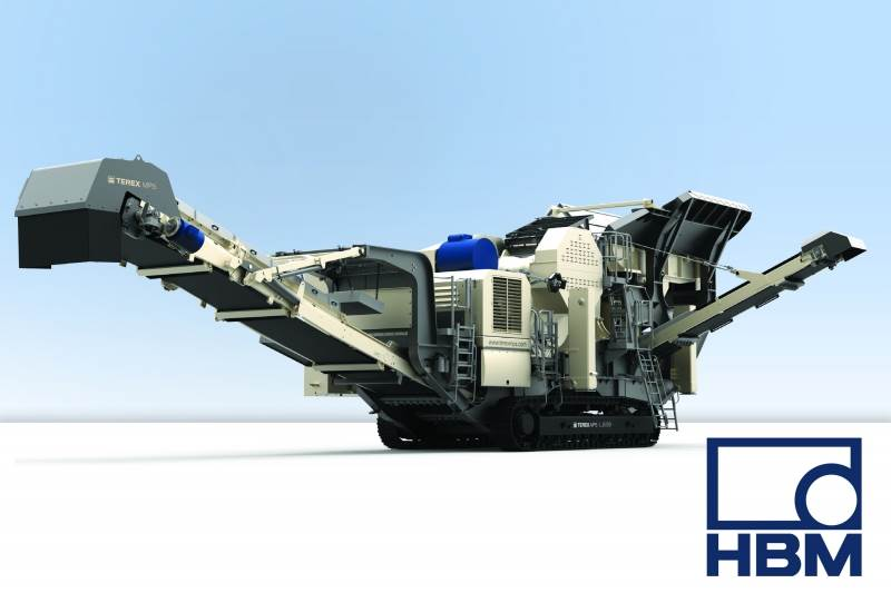 WHEN THE GOING GETS TOUGH, THE TOUGH GET GOING! HBM Provides Terex® MPS with a Flexible Solution