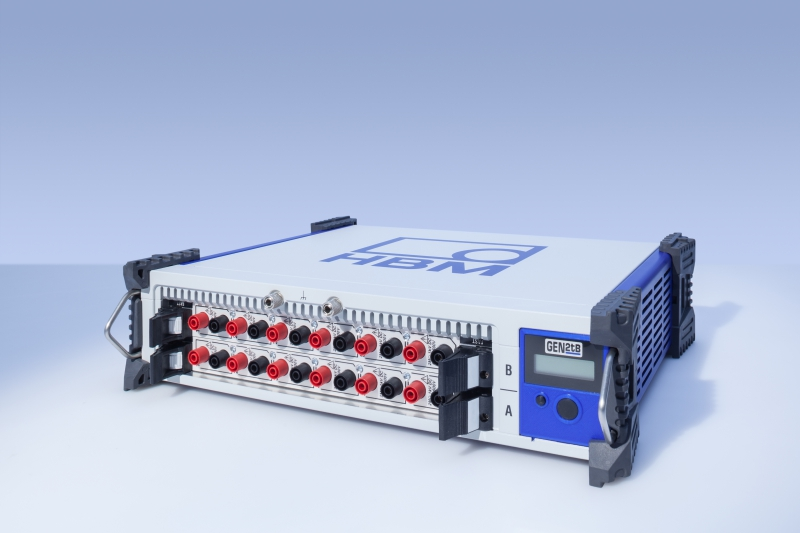 NEW DAQ SYSTEM FROM HBM GROWS WITH YOUR NEEDS.