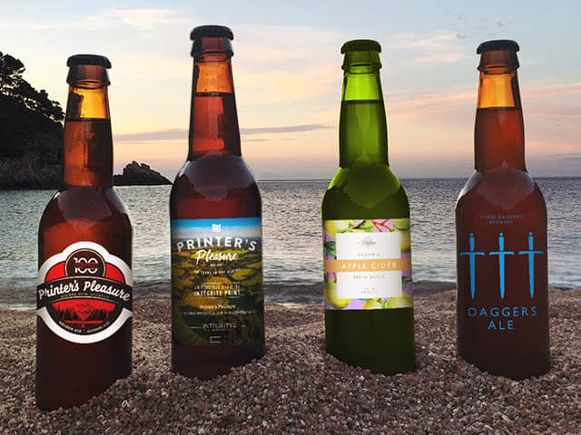 Bespoke Beer Bottle Labels