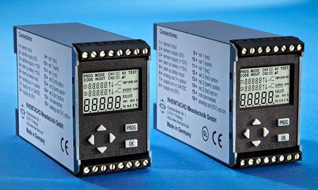 Rotational speed monitors