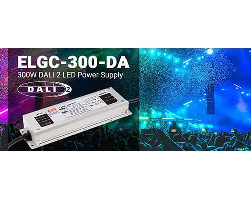 ELGC-300-DA Series 300W DALI 2 LED Power Supply