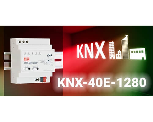 KNX-40E 1280D KNX Power Supply with Diagnostic Function