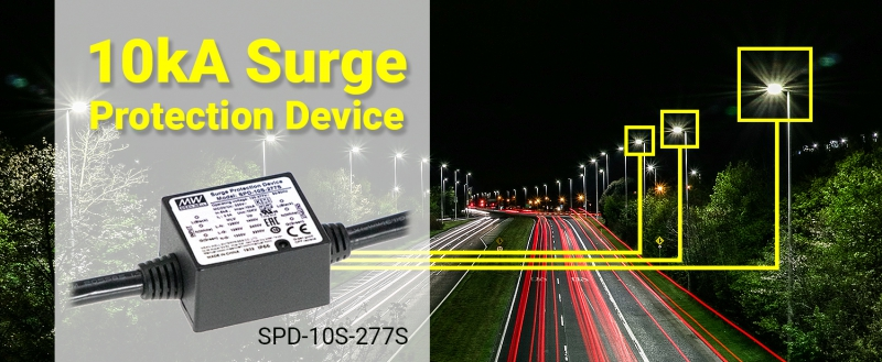 SPD-10S-277S Series 10kA Miniaturized High-Performance Surge Protection Device