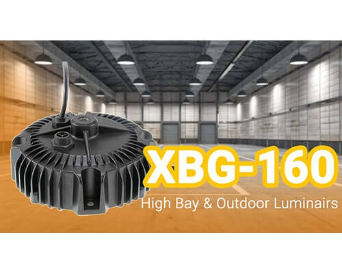 XBG-160 High Bay & Outdoor Luminairs