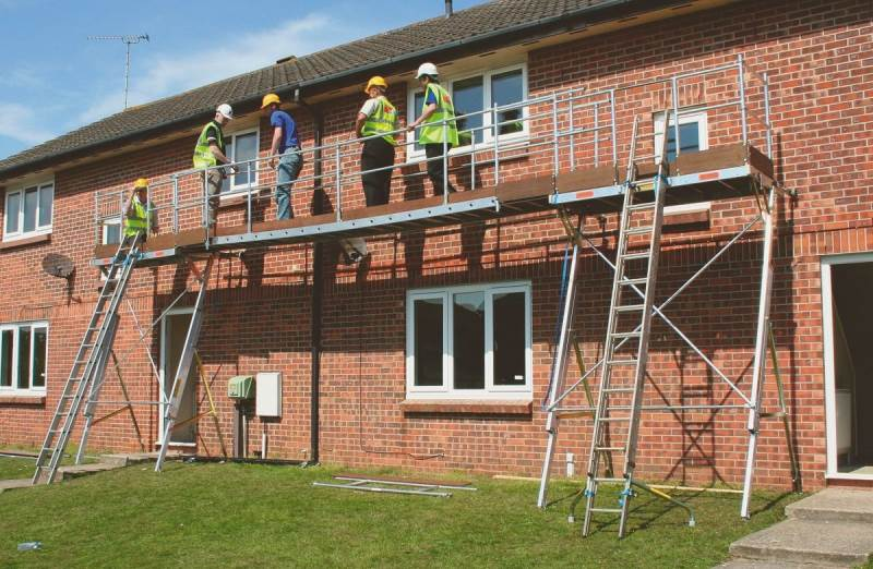 The Window Company Invests in Cost Saving Alternative to Scaffolding