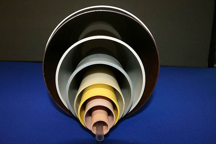 PVC Tubes of Various Sizes and Colour