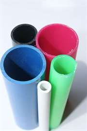 Plastic Extrusion Tubes of Various Sizes & colours