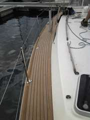 Plastic Synthetic Marine Decking