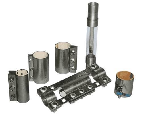 Morris pipe couplings