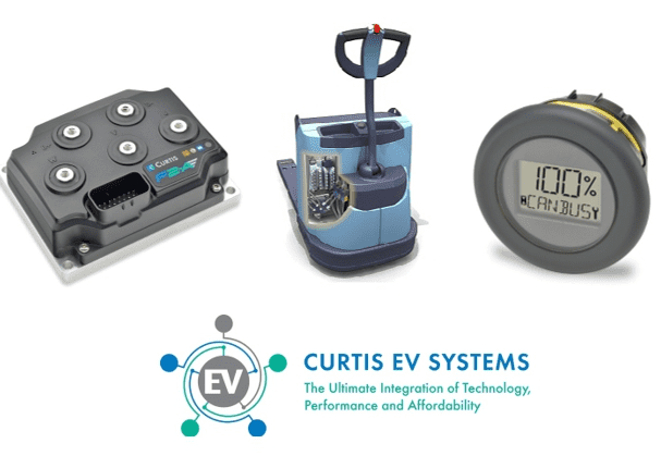New Curtis AC Control Systems for Powered Pallet Trucks
