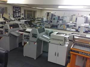 Print Finishing Machinery Showroom
