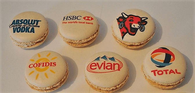 New Promotional Product for 2017: Logo Macaroons