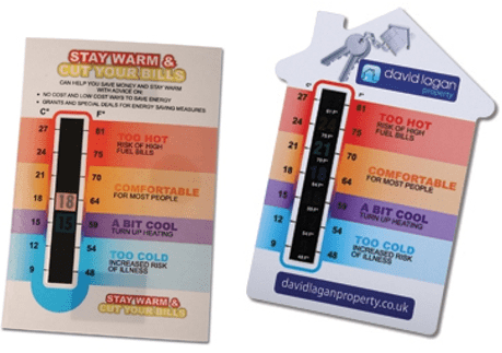 Featured product: Temperature Gauge Cards