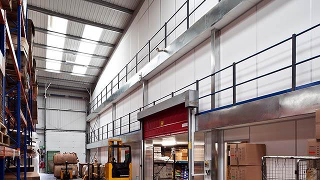 Mezzanine Floors - The options for your commercial interior