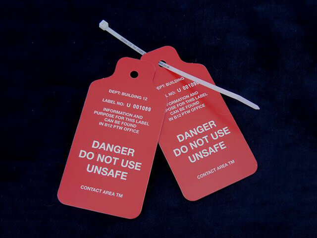 Safety Notice Tags