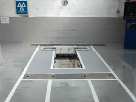 Automotive Epoxy Resin Flooring+