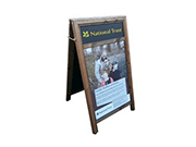 Chalk Board with Display Panel