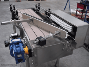 Bottle Loading Table with Combiner