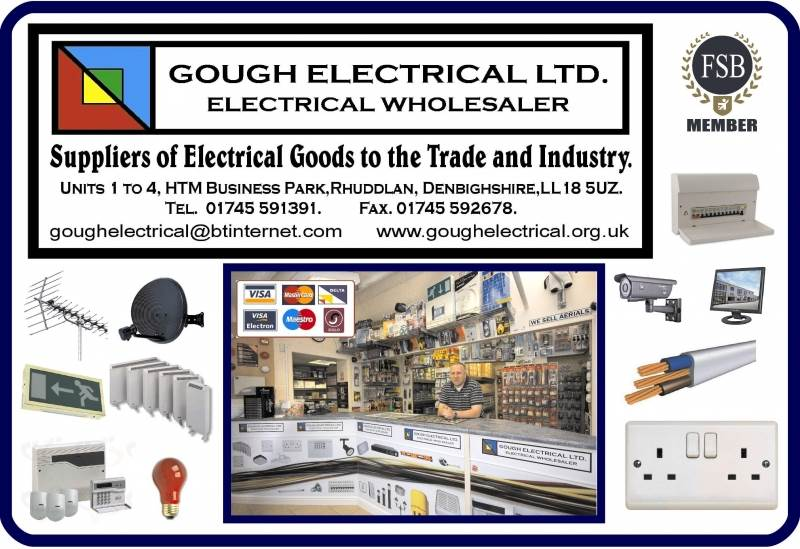 T Amp R Electrical Wholesalers Ltd