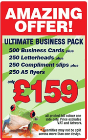 Amazing Offer. The Ultimate Business Pack Offer