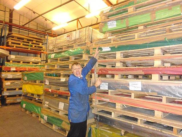 Plastic Sheets In Stock