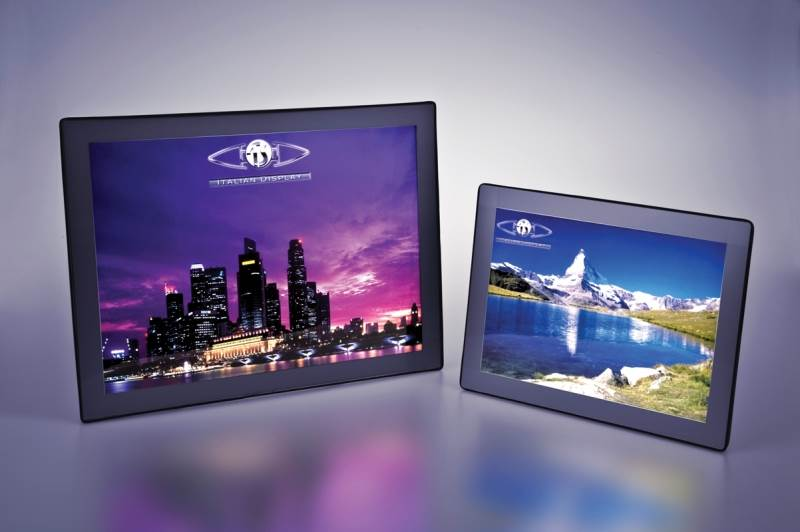 Table top illuminated display frames
