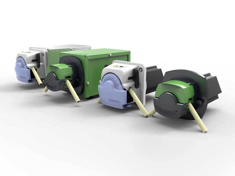 Verderflex taking strides with the new Steptronic range of pumps