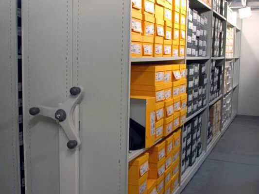 Mobile Roller Racking for Shoe Retailers