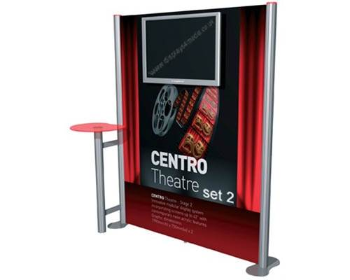 Multimedia display stands